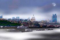London City Skyline von sylvia scotting