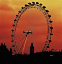 London Eye UK by sylvia scotting