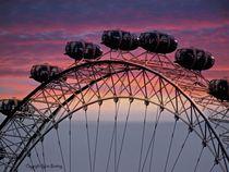 London Eye UK von sylvia scotting