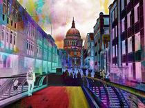 St Pauls Cathedral London von sylvia scotting