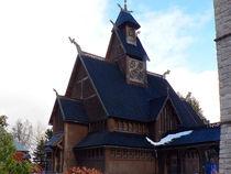 Stabkirche Wang von Sabine Radtke