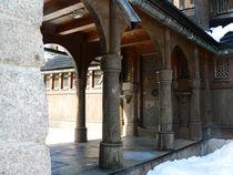 Seiteneingang der Stabkirche Wang von Sabine Radtke