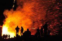Funkenfeuer von fostern