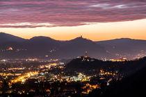 Sonnenaufgang über dem Siebengebirge von Frank Landsberg