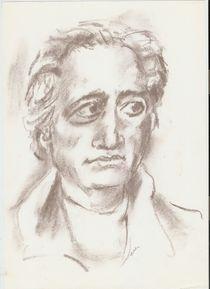 portret Goethe by Ioana  Candea