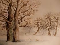 Winterlandschaft von Dorothy Maurus
