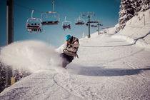 Snowboarder von Jochen Conrad