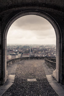 Torbogen zu Bergamo by Jochen Conrad