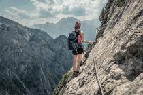Alpine Gratwanderung am Mannlsteig by Jochen Conrad