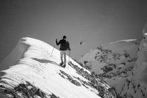 Schneeschuh Wanderung am Feldernkopf von Jochen Conrad