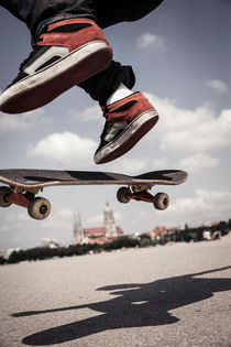 Fliegendes Skateboard by Jochen Conrad
