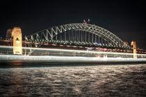 Sydney Harbour Bridge @ night von Jochen Conrad