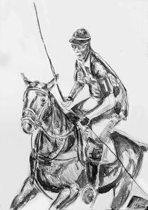 Polospieler von Thomas Neumann