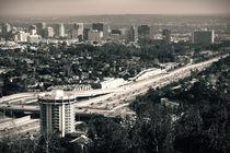 San Diego Freeway von Bastian  Kienitz