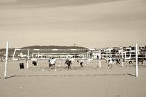 Beachvolleyball  by Bastian  Kienitz