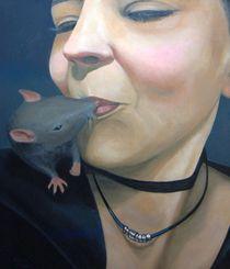 A very sweet kiss. by Michael Kühne