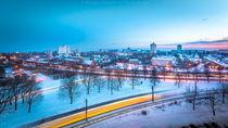 Marzahn im Winter 2 von Tommy Fischer