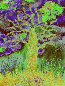 Abstract tree von loredana messina