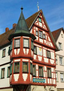 Alte Apotheke in Creglingen by gscheffbuch