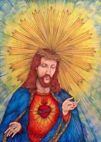 The Sacred Heart Of Jesus Christ von Kent Chua
