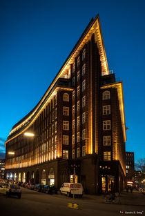 Chilehaus, Kontorhausviertel, Hamburg by Sandro S. Selig