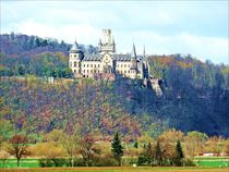 'Landscape with Castle Marienburg' by Sandra Vollmann