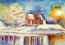 Winterlandschaft von Irina Usova
