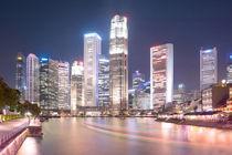 Singapur Downtown von Ken Palme