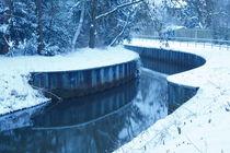 Bremen, Winterstimmung an der Kleinen Wuemme von Torsten Krüger