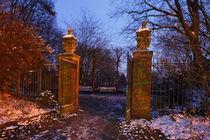 Bremen, Winterstimmung in den Wallanlagen von Torsten Krüger