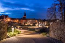 Kath. Kirche und Untere Burg von Frank Landsberg