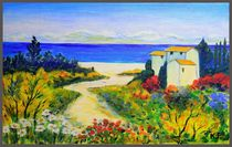 Summer day in Provence von Yuri Hope