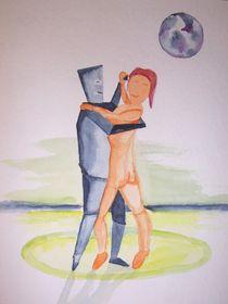 Tanzendes Paar by Achim Gütling