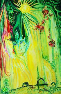 Wald-Lichtung von Lydia  Knauf