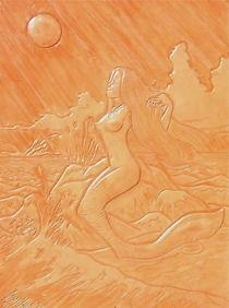 MOONSHOT MERMAID by Ron Moses