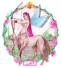 Sagittarius  ~  Centaur Archer by Sandra Gale
