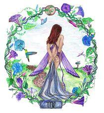 Virgo ~ The Virgin von Sandra Gale