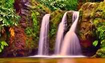 Wasserfall Azoren by Jens Schirrmeister