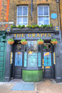 The Grapes Pub London von David Pyatt