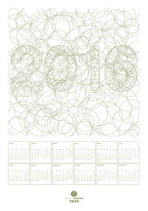 2016 calendar circles