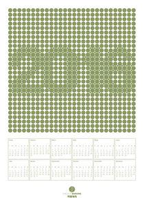 2016 calendar dots
