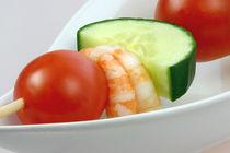 Gemüsespiess mit Garnelen  by lizcollet