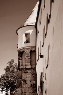 Porta Praetoria in Regensburg by lizcollet