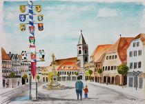 Marktplatz Bad Neustadt von Achim Gütling