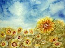 Sonnenblumenfeld by Irina Usova