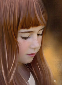 red hair .... by Jacqueline Schreiber