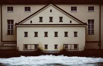 Wasserkraftwerk in München von Andreas Brauner