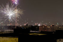 Firework over munich von Andreas Brauner