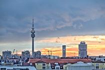 Münchnen Skyline von Andreas Brauner