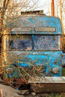 Verlassene Bus von Andreas Brauner